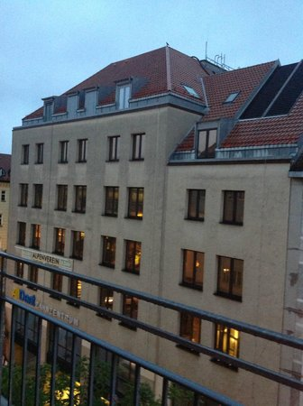 Hotelisssimo Haberstock: View from room