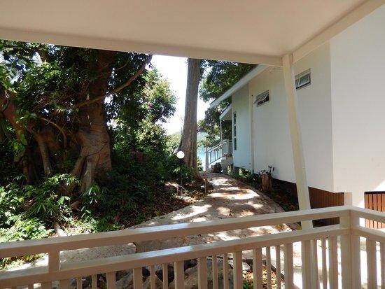 Bay View Resort: Vista desde habitación