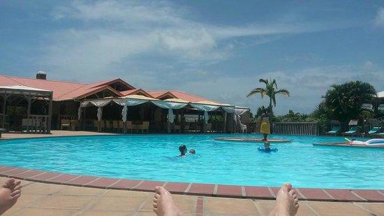 HOTEL CAP MACABOU: vu du transat