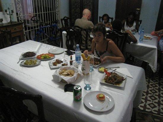 Casa Munoz: comida, riquisima