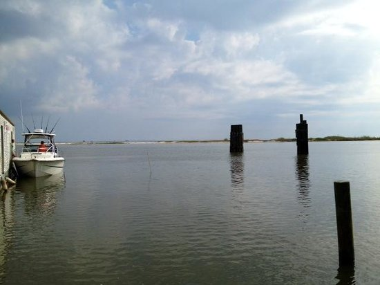 Dauphin Island Harbor House : Down by Ferry