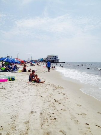 Dauphin Island Harbor House : West Beach Swimming Area