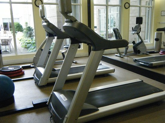 Hilton Garden Inn Montreal Airport: Fitness Room