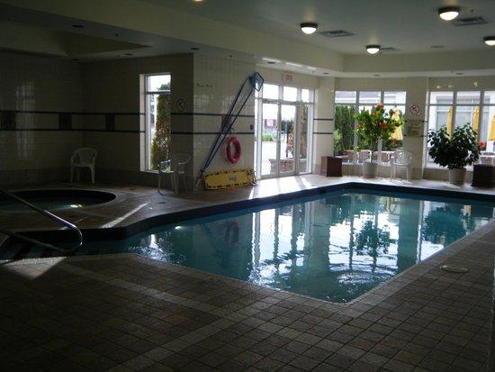 Hilton Garden Inn Montreal Airport: Pool & Hot Tub
