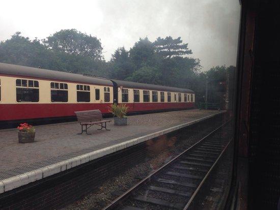 North Norfolk Railway: At Sheringham station