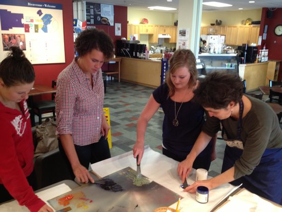 Church Point, Canada: Art de la Baie workshops (Wednesdays 10-3, until Sept.10)
