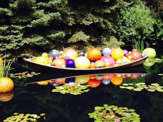 Denver Botanic Gardens: these balls were approx 3 ft avg!