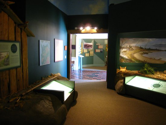Heritage Museum: Native exhibit