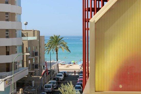 Hotel Helios Mallorca: Vu du balcon
