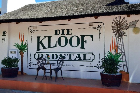 Die Kloof Padstal: La façade du restaurant