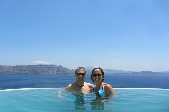Pezoules: Do not miss the infinity pool