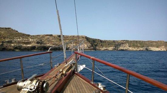 La Rosa dei Venti: Boating around Lampedusa