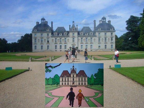 Château de Cheverny : chateau en 2 versions !