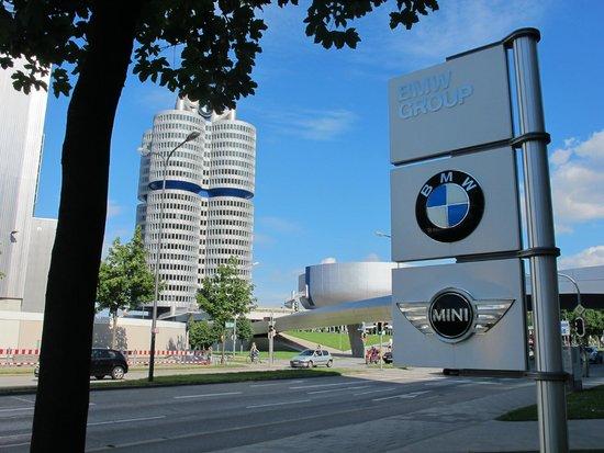 BMW-Museum: fachada 2