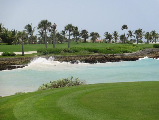Punta Espada Golf Course : tee box view