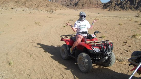 Sinai Safari Adventures: quad biking