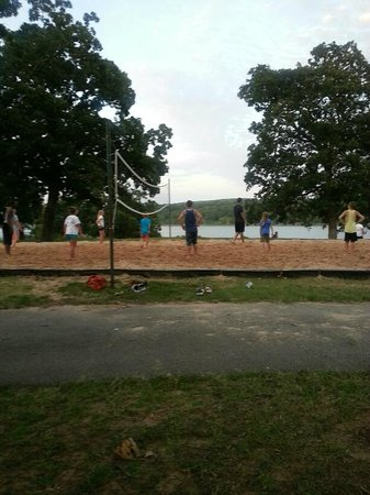 Sequoyah State Park: Volleyball