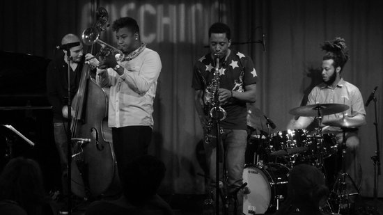 Fasching Jazz Club: 2013-10-27 Kris Funn, Christian Scott, Braxton Cook & Corey Fonville