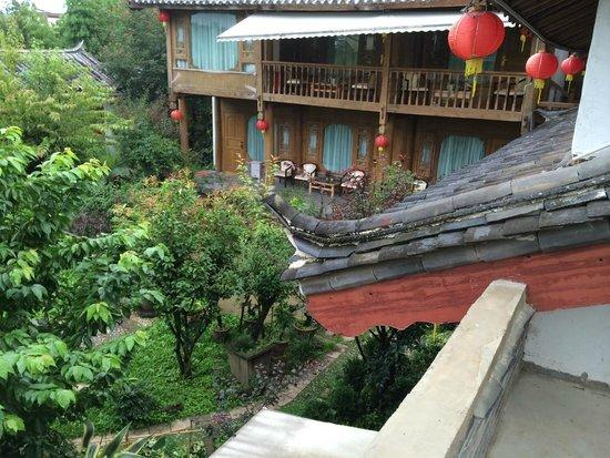 The Bruce Chalet: På den egna verandan
