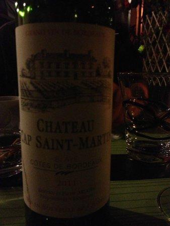 Le Sentier des Saveurs : vin rouge Exelent