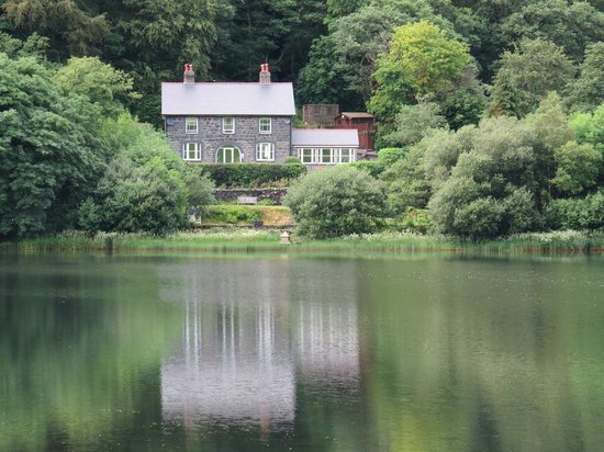 The Old Rectory on the Lake: The Old Rectory from across the lake