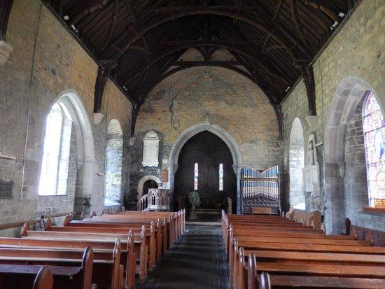 St. Brendan's Clonfert Cathedral: Clonfert Cathedral, interior