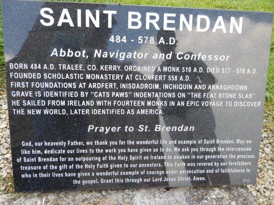 St. Brendan's Clonfert Cathedral: Clonfert Cathedral, St. Brendan's grave