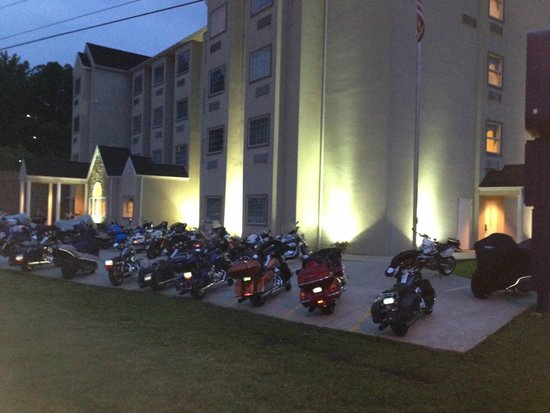 Microtel Inn & Suites by Wyndham Robbinsville: A Biker's dream hotel