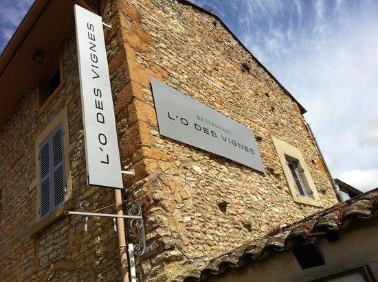 L'O des Vignes : La façade de cette belle maison