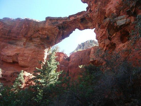 Devil's Bridge Trail: du bas...