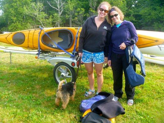 Driftwood Kayak: Jen and I
