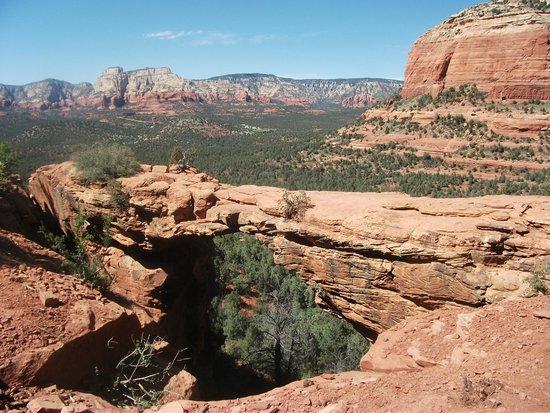 Devil's Bridge Trail: et du haut...