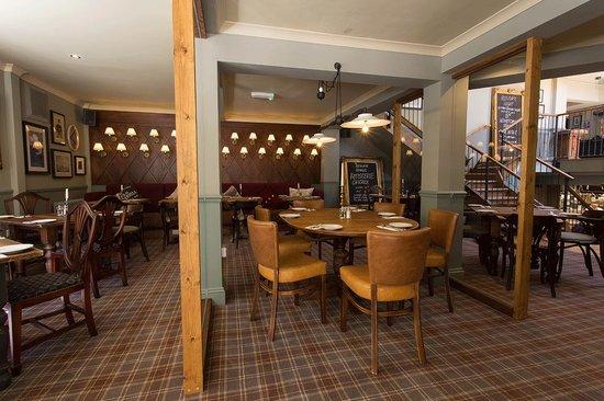 The Bickley Pub & Garden: The Bickley - lower restaurant