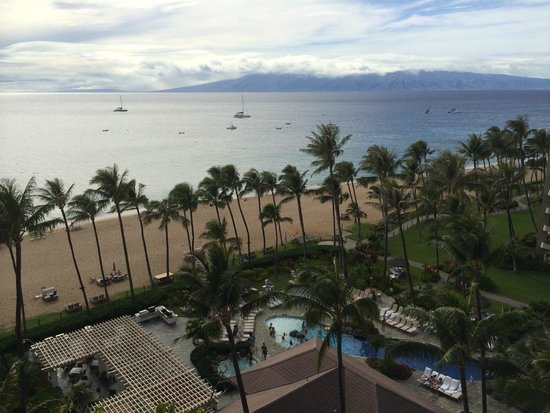 Kaanapali Alii: View from building 4 tenth floor