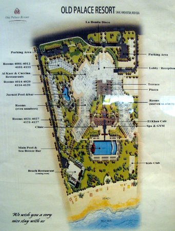 Old Palace Resort: Hotel plan