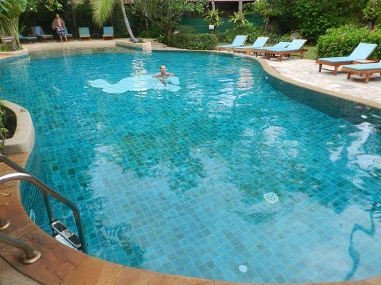 Rabbit Resort: One of the two pools (this one for adults only)