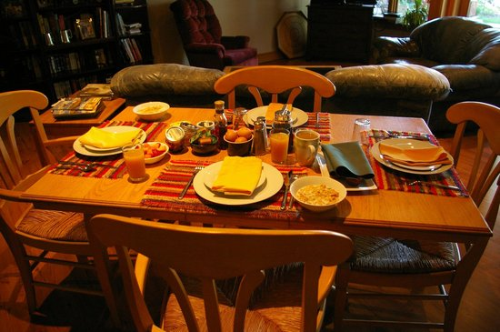 Le Beausoleil Bed and Breakfast: Agood day´s start