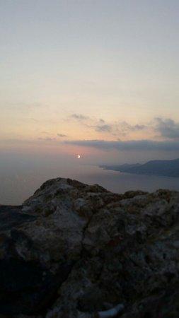 Alanya Kalesi (Castle): Kaleden gün batımı - sunset from castle