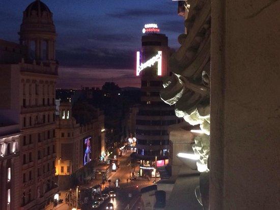 Tryp Madrid Cibeles Hotel: Vistas desde la habitación