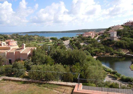 Bagaglino I Giardini di Porto Cervo: panorama dalla camera