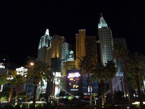 New York - New York Hotel and Casino : Hôtel de nuit