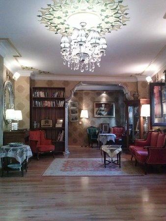 Tashkonak Hotel: Hall