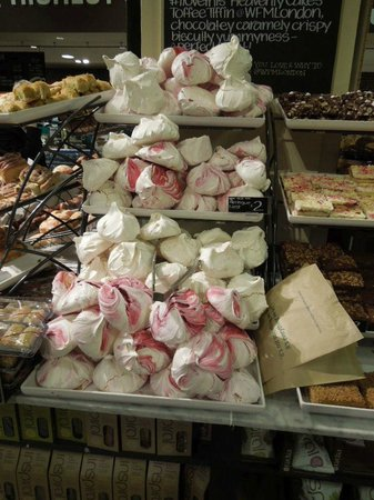 Incredible Colored Meringues - Picture of Whole Foods Market, London ...