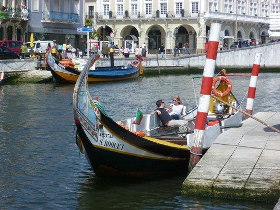 Hotel das Salinas: Portuguese gondola