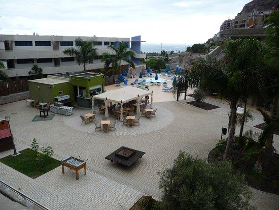 Hotel Terraza Amadores : Vista desde la Terraza de la habitación