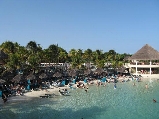 Occidental at Xcaret Destination: Lagoon Beach