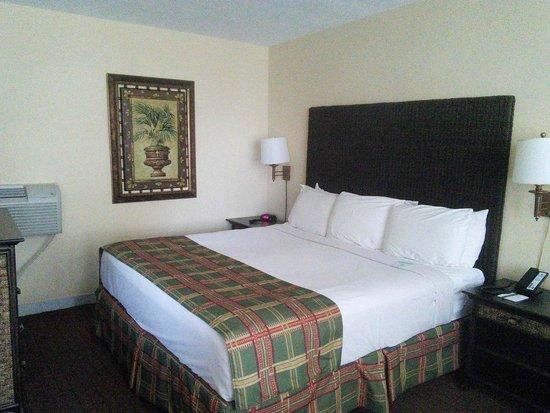 Beachcomber Resort and Villas: Pool deck room - bedroom