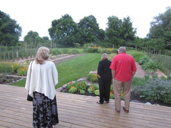 Suzanne Fine Regional Cuisine: Viewing the gardens