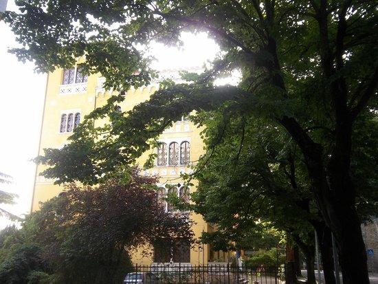 Hotel Europa: l'esterno dell'hotel