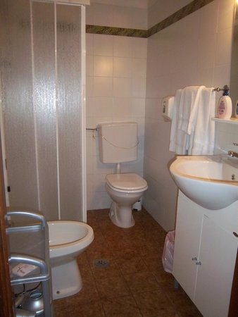 Hotel Europa : il bagno